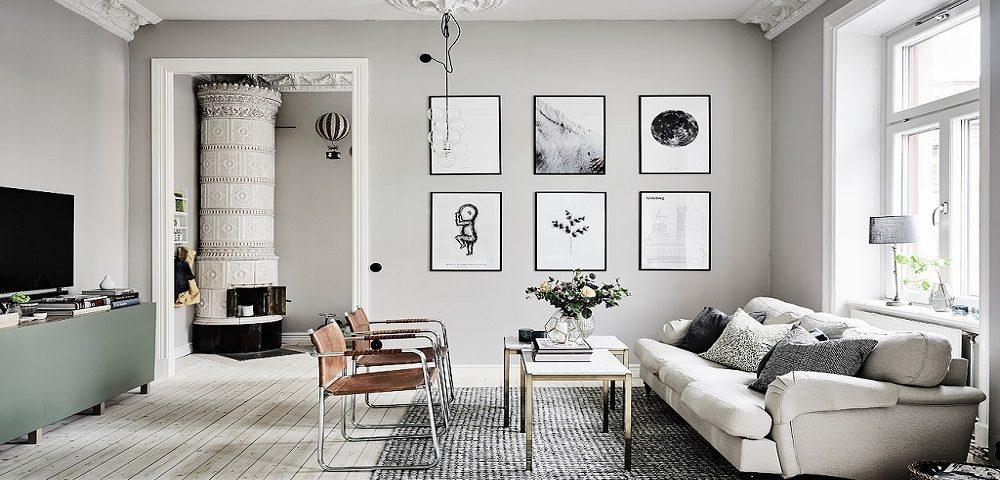 diseño interior en salon reformas decoración sant cugat